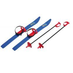 Skiuri pentru copii, 76 cm, cu bete
