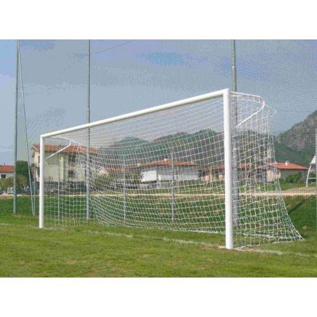 Porti fotbal fixe 7.32x2.44 m, profil oval AL