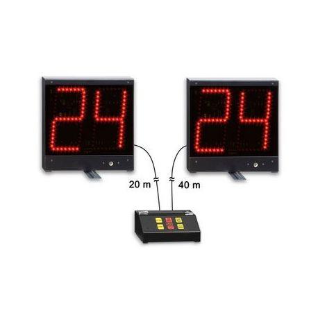 Cronometre timp atac 24 secunde baschet