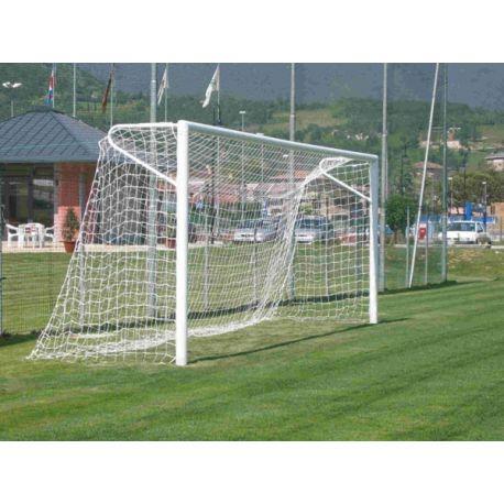 Porti fotbal fixe 5x2 m, profil oval AL