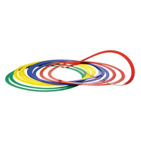 Cerc flexibil pentru coordonare - set 12 buc.