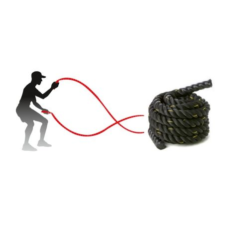 Franghie antrenament Battle Rope