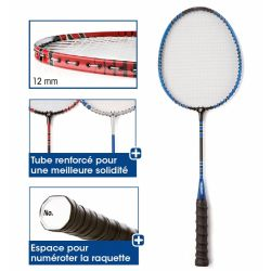 Racheta badminton 61 cm - copii