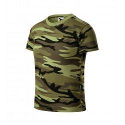 Tricou copii Camouflage verde