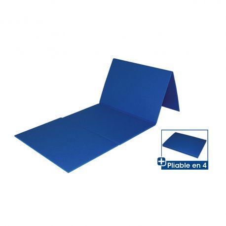 Saltea aerobic pliabila, albastra