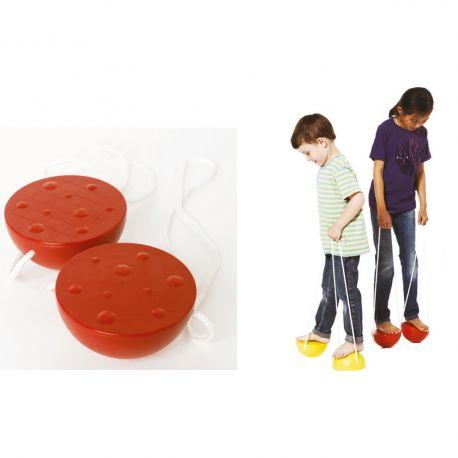 Semisfere de echilibru cu snur, pentru copii