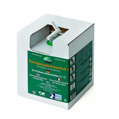 Concentrat Trimona, curatare pardoseli din PVC de clister